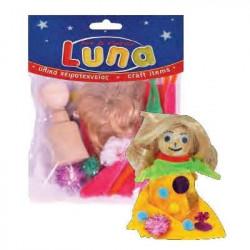 Σετ για κατασκευή κούκλας LUNA