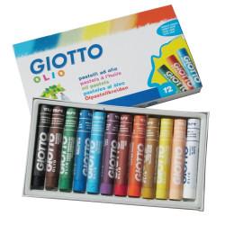 Λαδοπαστέλ GIOTTO 12 χρώματα
