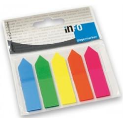 Σελιδοδείκτες αυτοκόλλητοι INFO 2682-09