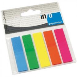 Σελιδοδείκτες αυτοκόλλητοι INFO 2681-09