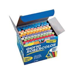 Κιμωλίες χρωματιστές GIOTTO 100 τεμάχια