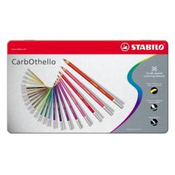 Μολύβια STABILO CARBOTHELO σετ 36 τεμαχίων