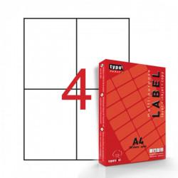 Αυτοκόλλητες ετικέτες εκτυπωτών Α4 105x148.5mm