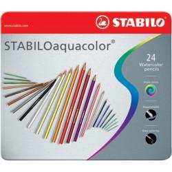 Μολύβια ακουαρέλας STABILO 24
