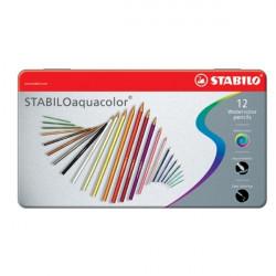Μολύβια ακουαρέλας STABILO 12