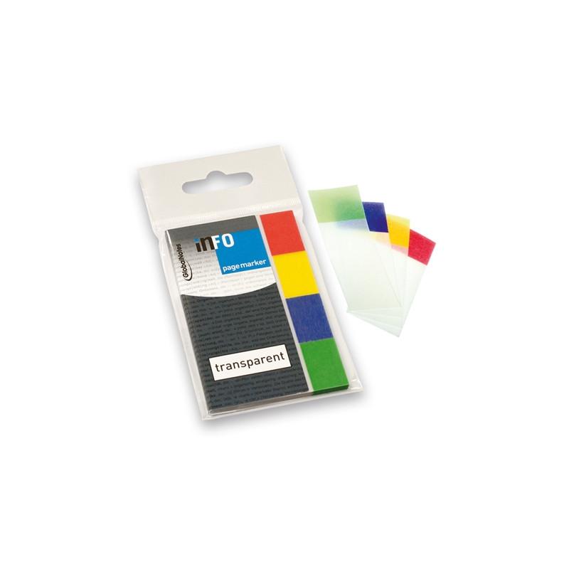 Σελιδοδείκτες αυτοκόλλητοι INFO transparent