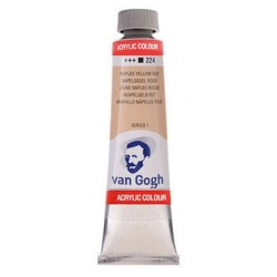 Ακρυλικό VAN COGH 40ml NAPLES YELLOW RED 224
