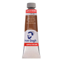 Ακρυλικό VAN COGH 40ml RAW SIENNA 234