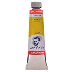 Ακρυλικό χρώμα ζωγραφικής VAN GOGH 40ml AZO YELLOW DEEP 270
