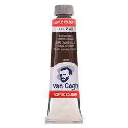 Ακρυλικό χρώμα ζωγραφικής VAN GOGH BURNT UMBER 409