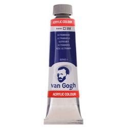 Ακρυλικό χρώμα ζωγραφικής VAN GOGH ULTRAMARIN 504