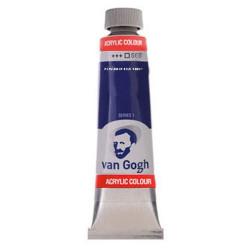 Ακρυλικό χρώμα ζωγραφικής VAN GOGH PERMANENT BLUE VIOLET 568