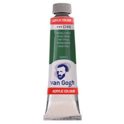 Ακρυλικό χρώμα ζωγραφικής VAN GOGH PHTHALO GREEN 675