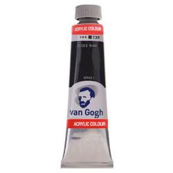 Ακρυλικό χρώμα ζωγραφικής VAN GOGH BLACK 735