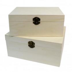 Κουτί ξύλινο 23,5x17,5x11cm