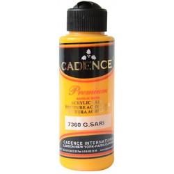 Ακρυλικό χρώμα ζωγραφικής CADENCE SUNSHINE YELLOW 7360