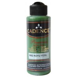 Ακρυλικό χρώμα ζωγραφικής CADENCE DARK GREEN 9052