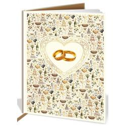 Βιβλίο ευχών γάμου 8882