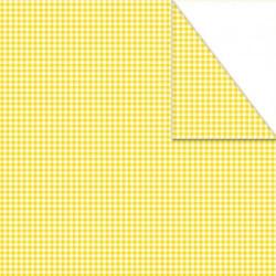 Χαρτόνι καρό mini διπλής όψης 50x70 λιλά