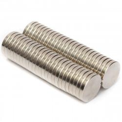 Μαγνήτες στρογγυλοί 10mm σετ 25 τεμαχίων