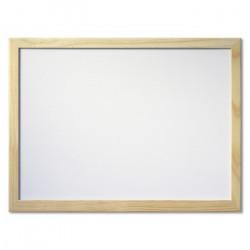 Πίνακας μαρκαδόρου με ξύλινο πλαίσιο 80x120cm
