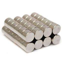 Μαγνήτες στρογγυλοί 8mm σετ 25 τεμαχίων