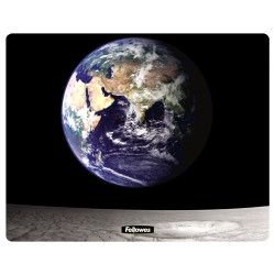 MOUSE PAD FELLOWES MAT ROUND - GOLDFISH BOWL