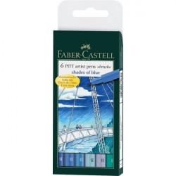 Μαρκαδόροι ζωγραφικής FABER CASTELL PASTEL 167163