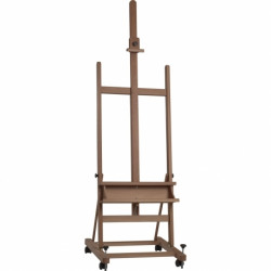 Easel coat with wheels ROBUSTI