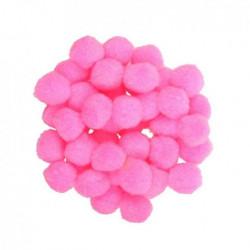 POM POMS MONDI pink 25mm...