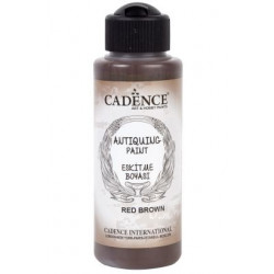 ANTIQUING PAINT CADENCE RED BROWN 306