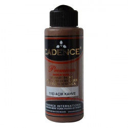Acrylic Paint Color CADENCE LIGHT BROWN 1153