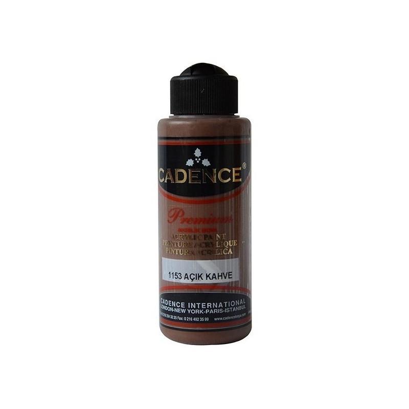 Ακρυλικό χρώμα ζωγραφικής CADENCE LIGHT BROWN 1153