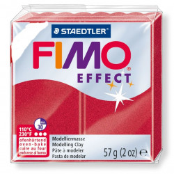 Πηλός FIMO EFFECT 56gr METALLIC RUBY RED 28