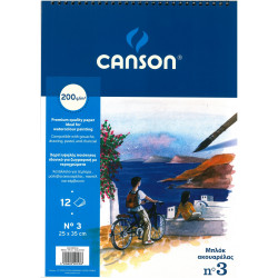 Watercolor pad CANSON...
