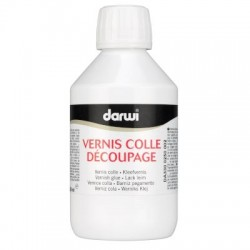 DECOUPAGE VERNIS COLLE glue...