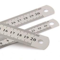 Χάρακας μεταλλικός 30cm B-R