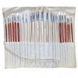 Πινέλα ζωγραφικής ARTMATE σετ 24 τεμαχίων