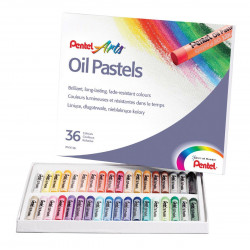 Oil pastel PENTEL set of 36...