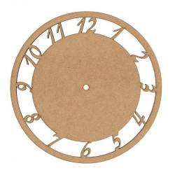 Round MDF Clock 25cm
