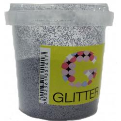 Χρυσόσκονη glitter γκρι 80gr