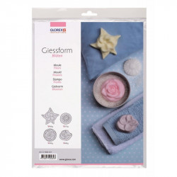 GLOREX Moulds 61600431 FLOWERS