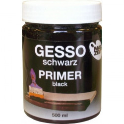 GESSO MALZEIT 500ml black,...