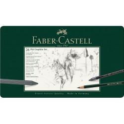 PITT GRAPHITE SET FABER-CASTELL 112974