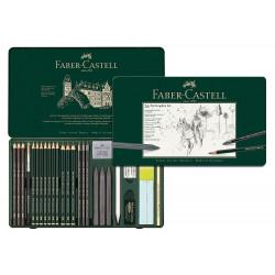 Κασετίνα FABER-CASTELL PITT 26 τεμαχίων 112974