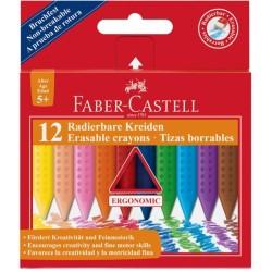 Κηρομπογιές FABER CASTELL 122520