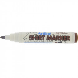 ARTLINE T-SHIRT MARKER BROWN