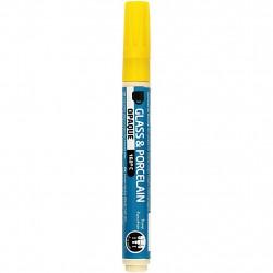 Μαρκαδόρος πορσελάνης και γυαλιού YELLOW 2-4mm, 31321