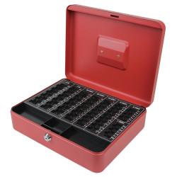 Χρηματοκιβώτιο με κερματοθήκη B-R 25x31cm RED