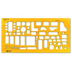 Furniture stencil ARDA 7136